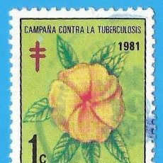 Sellos: REP. DOMINICANA. 1981. CAMPAÑA CONTRA LA TUBERCULOSIS. Lote 221859187