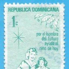 Francobolli: REP. DOMINICANA. 1982. PROTECCION DE LA INFANCIA. Lote 221859310