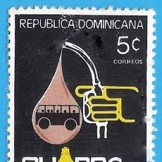 Francobolli: REP. DOMINICANA. 1982. AHORRE ENERGIA. Lote 221890016