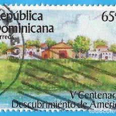 Francobolli: REP. DOMINICANA. 1985. V CENTENARIO DESCUBRIMIENTO DE AMERICA. Lote 222044512