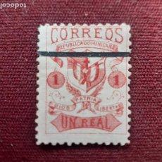 Sellos: REPÚBLICA DOMINICANA 2. UN REAL 1879. Lote 235816020