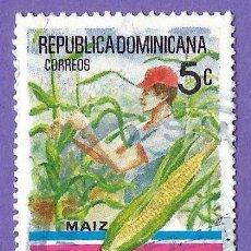 Francobolli: REPUBLICA DOMINICANA. 1980. AÑO DEL AGRICULTOR. MAIZ. Lote 242944255