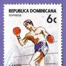 Francobolli: REPUBLICA DOMINICANA. 1981. JUEGOS DEPORTIVOS. BOXEO. Lote 242945000