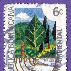 Francobolli: REPUBLICA DOMINICANA. 1982. PROTECCION AMBIENTAL. BOSQUE. Lote 242946670