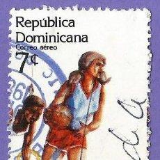 Francobolli: REPUBLICA DOMINICANA. 1983. JUEGOS PANAMERICANOS. BALONCESTO. GIMNASIA. Lote 242983290