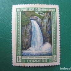 Sellos: REPUBLICA DOMINICANA, 1946, SALTO DEL JIMENOA, YVERT 394. Lote 245456090