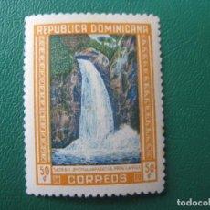 Sellos: REPUBLICA DOMINICANA, 1946, SALTO DEL JIMENOA, YVERT 399. Lote 245456935