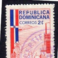 Sellos: AMÉRICA. R. DOMINICANA. DESARROLLO DE LA AGRICULTURA Y DE LA INDUSTRIA YT572. USADO SIN CHARNELA. Lote 254632480