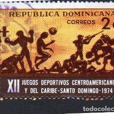 Sellos: AMÉRICA. R. DOMINICANA. XII JUEGOS CENTRO AMERICANOS Y DEL CARIBE YT726. USADO SIN CHARNELA. Lote 254634200