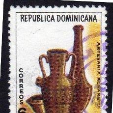 Sellos: AMÉRICA. R. DOMINICANA. ARTESANÍA.MUSEO DEL HOMBRE DOMINICANO YT739. USADO SIN CHARNELA. Lote 254653525