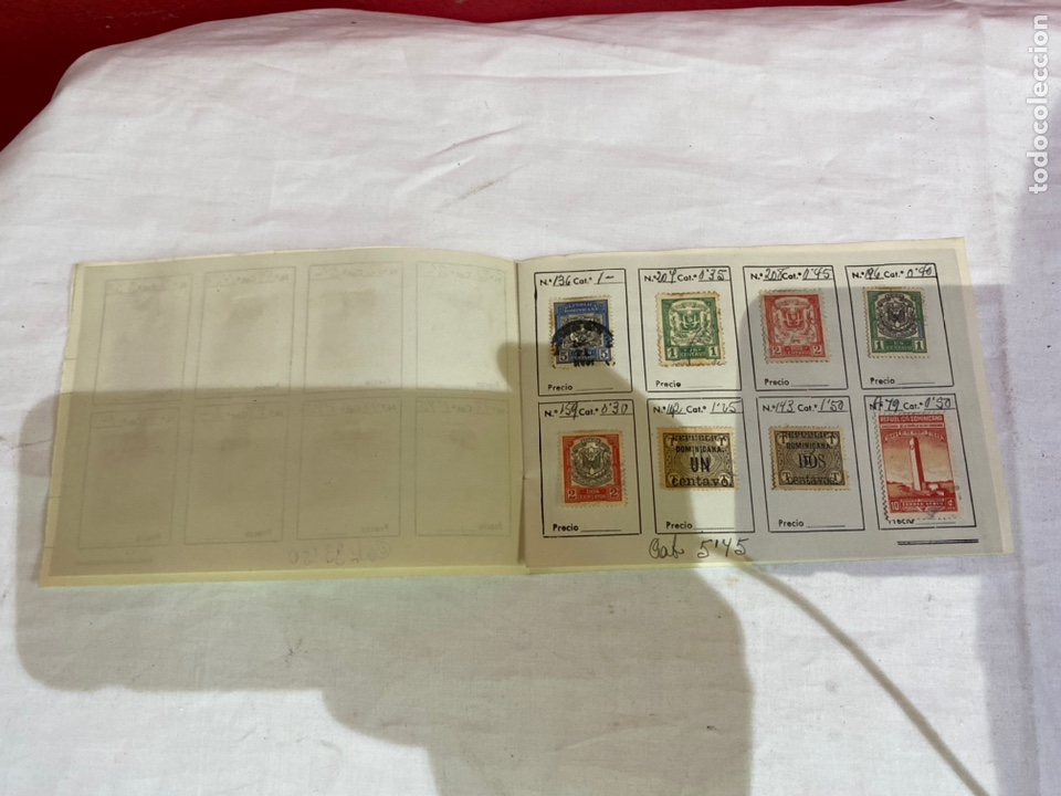 Sellos: Álbum de sellos dominicana catalogados . Ver fotos - Foto 3 - 261925600