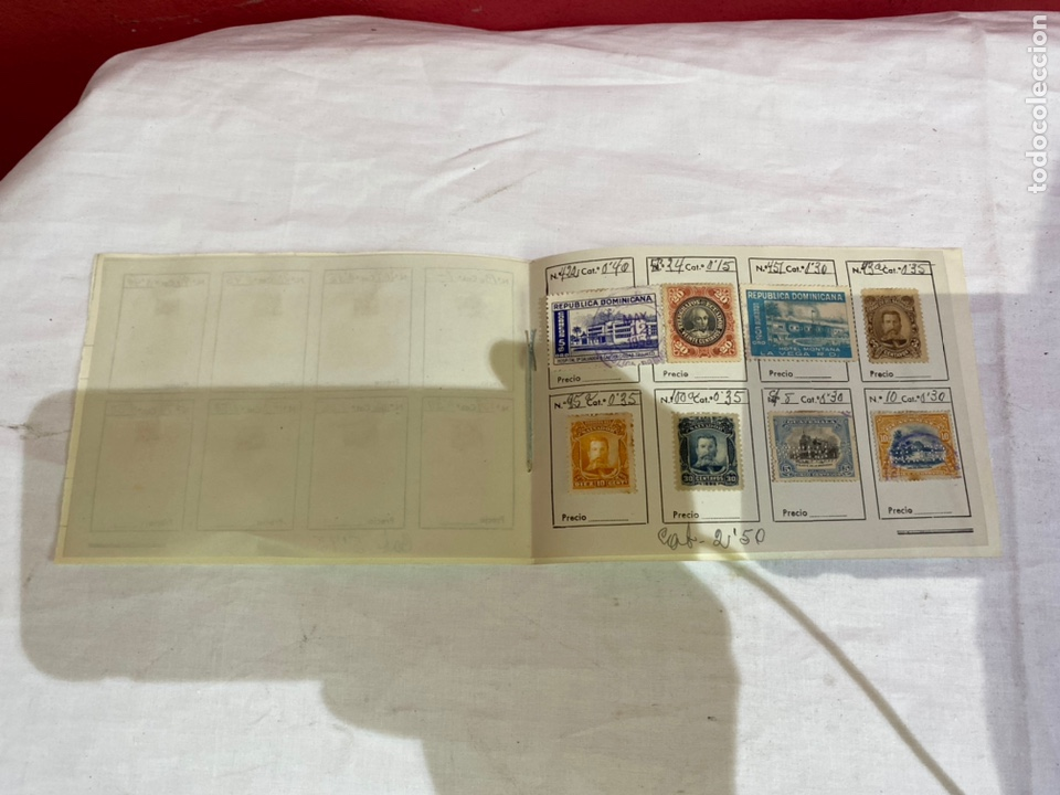 Sellos: Álbum de sellos dominicana catalogados . Ver fotos - Foto 4 - 261925600