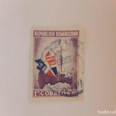 Francobolli: REPUBLICA DOMINICANA SELLO USADO. Lote 265129214