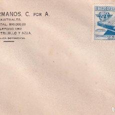 Sellos: CIUDAD TRUJILLO NOBOA HERMANOS. Lote 274312008