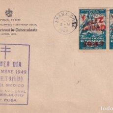 Sellos: TUBERCULOSOS CUBA 1949. Lote 274312363
