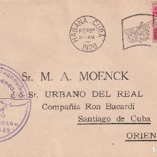 Sellos: CUBA RON BACARDI 1928. Lote 274312568