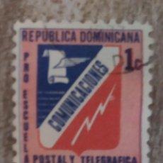 Sellos: SELLO USADO R. DOMINICANA.. COMUNICACIONES. Lote 278505533