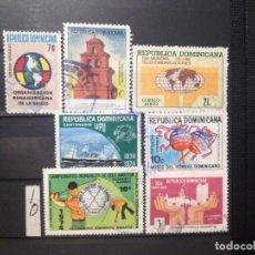 Sellos: SELLOS DE REPUBLICA DOMINICANA. USADOS. . YVERT Nº. Lote 284431208
