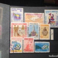 Sellos: SELLOS DE REPUBLICA DOMINICANA. USADOS. . YVERT Nº. Lote 284431248