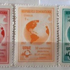 Sellos: REPUBLICA DOMINICANA,1962,CAT.YT.581/583. Lote 286773508