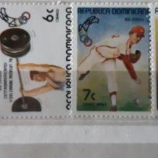 Sellos: REPUBLICA DOMINICANA,1978,CAT.YT.824/825 Y PA. 319/320.. Lote 286784053