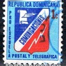 Sellos: REPUBLICA DOMINICANA // YVERT 43 BENEFICNCIA // 1971 ... USADO. Lote 287752328