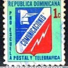 Sellos: REPUBLICA DOMINICANA // YVERT 51 D BENEFICENCIA // 1974-82 ... USADO. Lote 287752758