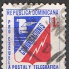 Sellos: REPUBLICA DOMINICANA // YVERT 60 BENEFICENCIA // 1981 ... USADO. Lote 287753078