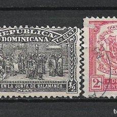 Sellos: REPUBLICA DOMINICANA SELLO USADO - 15/35. Lote 289658123