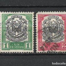 Sellos: REPUBLICA DOMINICANA SELLO USADO - 15/35. Lote 289658148