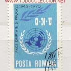 Sellos: RUMANÍA 1970. ON U. Lote 398300