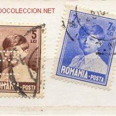 Sellos: RUMANÍA 1928. REY MICHAEL I. Lote 399517