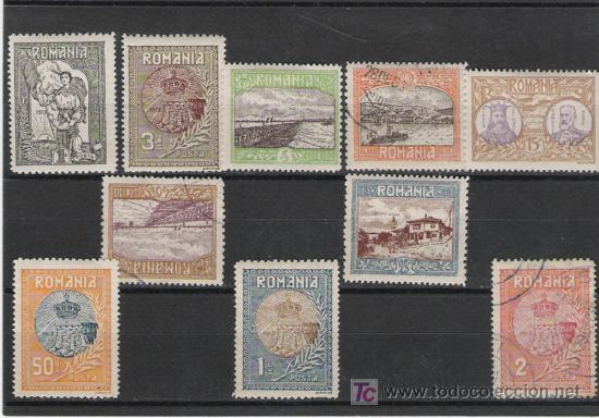 RUMANIA GRAN SERIE Nº 222/231 DE YVERT LOS DE LA FOTO (Sellos - Extranjero - Europa - Rumanía)