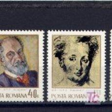 Sellos: RUMANIA / ROMANIA / ROUMANIE AÑO 1971 YVERT NR. 2648/51 PINTURAS NUEVA. Lote 7915785