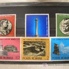 Sellos: RUMANIA 1975 IVERT 2901/6 *** AÑO EUROPEO PROTECCIÓN MONUMENTOS . Lote 19481779