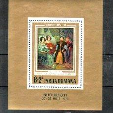 Sellos: RUMANIA HB 106 SIN CHARNELA, PINTURA, SOCPHILEX III EXP. FIL. DE LOS PAISES SOCIALISTAS EUROPEOS, . Lote 11282749