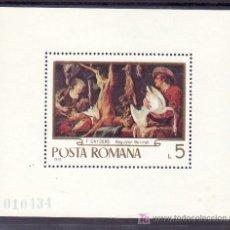 Sellos: RUMANIA HB 79 SIN CHARNELA, PINTURA, . Lote 11542419