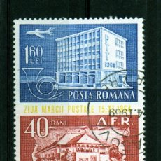Sellos: ++ RUMANIA / ROMANIA / ROUMANIE AÑO 1964 C.A. YVERT NR.209 USADA DIA DEL SELLO. Lote 9851275