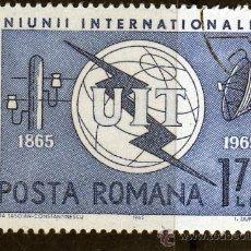 Francobolli: ++ RUMANIA / ROMANIA / ROUMANIE AÑO 1965 YVERT NR.2125 USADA UIT. Lote 9851340