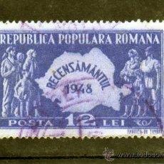 Sellos: ++ RUMANIA / ROMANIA / ROUMANIE AÑO 1948 YVERT NR..1009 USADA CENSO. Lote 10666870