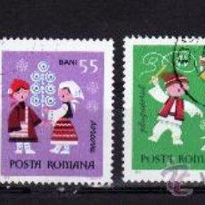 Sellos: ++ RUMANIA / ROMANIA / ROUMANIE AÑO 1969 YVERT NR. 2503/06 USADA NAVIDAD. Lote 11825780