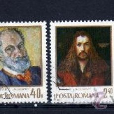 Sellos: ++ RUMANIA / ROMANIA / ROUMANIE AÑO 1971 YVERT NR. 2648/51 USADA PINTURAS. Lote 11825865