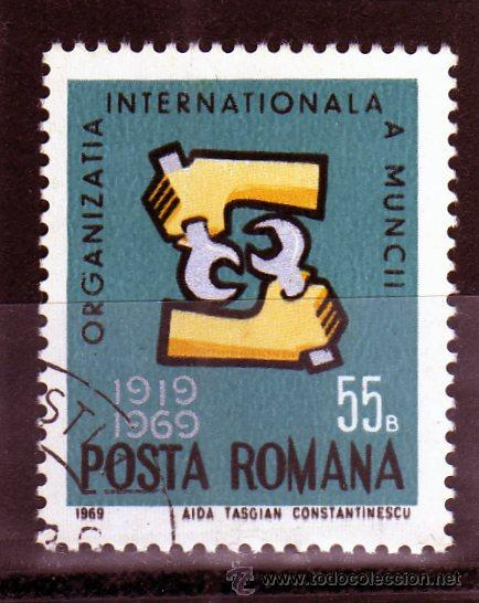 ++ RUMANIA / ROMANIA / ROUMANIE AÑO 1969 YVERT NR. 2460 USADA OIM (Sellos - Extranjero - Europa - Rumanía)