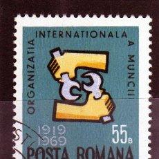 Sellos: ++ RUMANIA / ROMANIA / ROUMANIE AÑO 1969 YVERT NR. 2460 USADA OIM. Lote 12218282