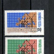 Sellos: ++ RUMANIA / ROMANIA / ROUMANIE AÑO 1970 YVERT NR.2533/34 USADA EUROPA. Lote 12865977