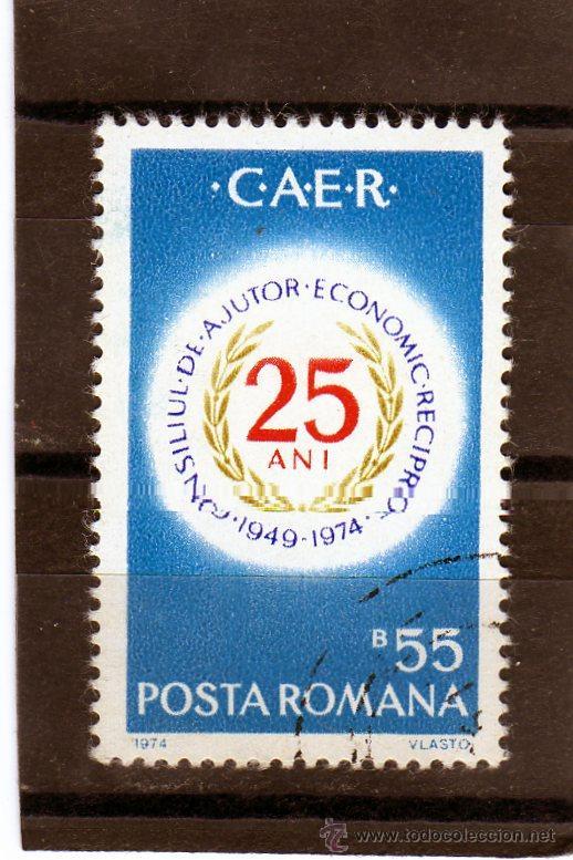 ++ RUMANIA / ROMANIA / ROUMANIE AÑO 1974 YVERT NR.2845 USADA CAER (Sellos - Extranjero - Europa - Rumanía)