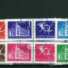 Sellos: ++ RUMANIA / ROMANIA / ROUMANIE AÑO 1967 TASAS YVERT NR. 127/23 PORTO USADOS. Lote 13152975