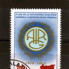 Sellos: ++ RUMANIA / ROMANIA / ROUMANIE AÑO 2001 YVERT NR. 4702 USADA OVERPRINT. Lote 13245761