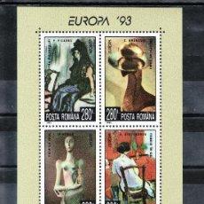 Sellos: RUMANIA HB 228 SIN CHARNELA, TEMA EUROPA, ARTE CONTEMPORANEO, PINTURA, PICASO, . Lote 26005243
