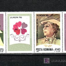 Sellos: RUMANIA 4302/3 SIN CHARNELA, TEMA EUROPA, MUJERES CELEBRES, . Lote 18239215